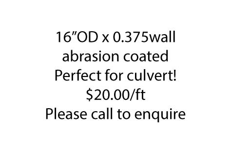 16od x 0.375wall abrasion coat